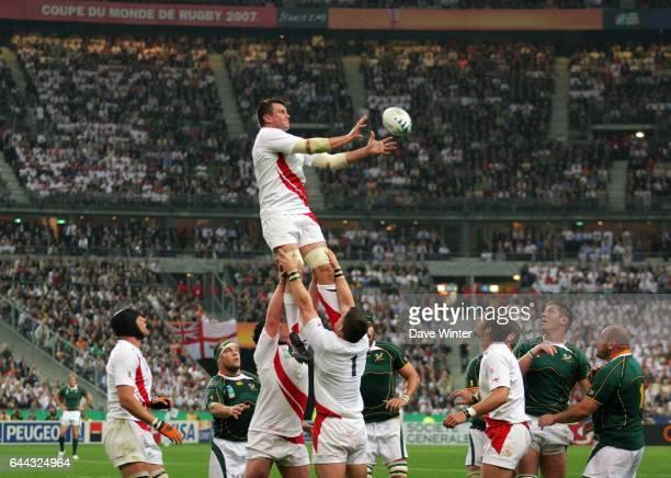 Martin CORRY - - Angleterre / Afrique du Sud - Coupe du monde de Rugby 2007 - Stade de France, Photo : Dave Winter / Icon Sport