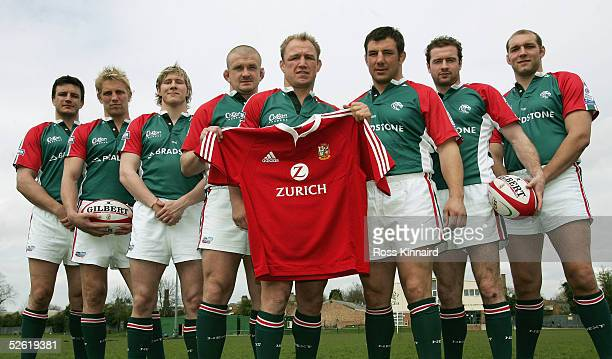 Martin Corry, Lewis Moody, Ollie Smith, Graham Rowntree, Neil Back, Julian White, Geordan Murphy and Ben Kay, the Leicester Tigers players who have...