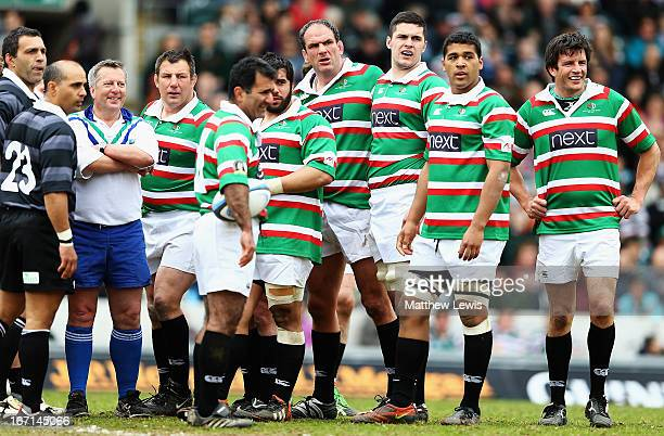 Martin Corry of the Louis Deacon's Tiger looks on during the Leicester Tigers Legends Match between Louis Deacon's Tigers and Matt Hampson...