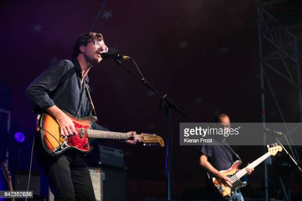 Martin Courtney and Alex Bleeker of Real Estate performs at Electric Picnic Festival at Stradbally Hall Estate on September 3 2017 in Laois Ireland