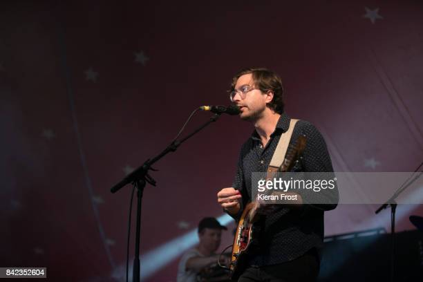 Martin Courtney of Real Estate performs at Electric Picnic Festival at Stradbally Hall Estate on September 3 2017 in Laois Ireland