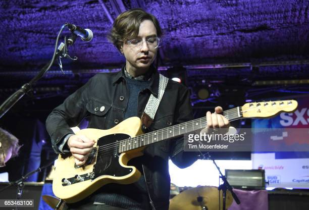 Martin Courtney of Real Estate performs at the Mazda Studio at Empire during the 2017 SXSW Conference And Festivals on March 14 2017 in Austin Texas