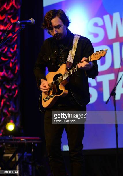 Martin Courtney of the band Real Estate performs onstage during the KCRW Radio Day Stage showcase at the Austin Convention Center on March 15 2017 in...