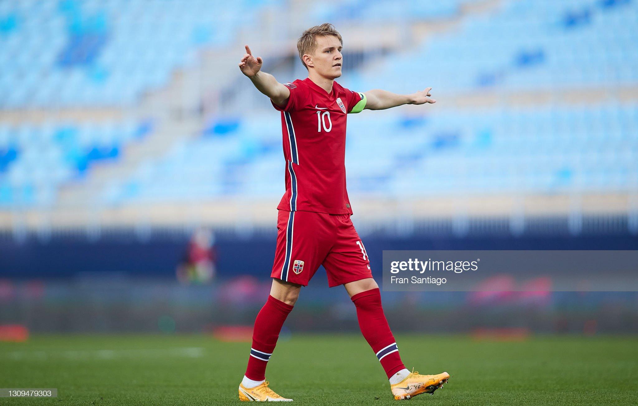 Norway v Turkey - FIFA World Cup 2022 Qatar Qualifier : ニュース写真