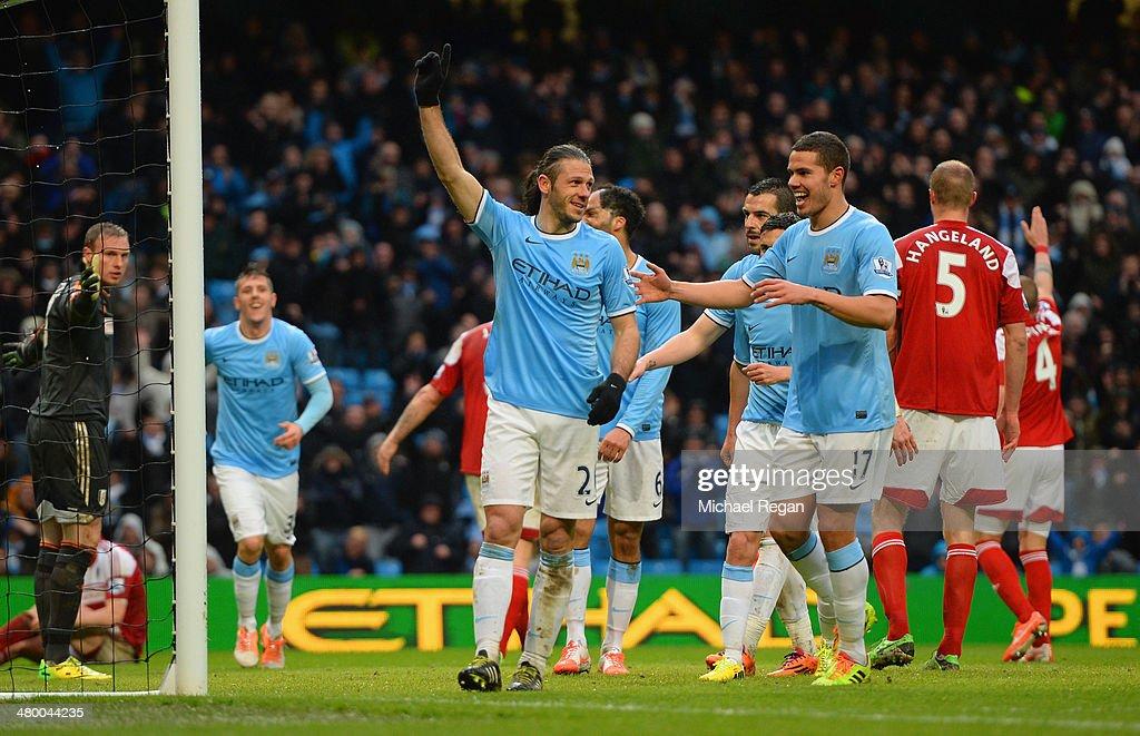 Manchester City v Fulham - Premier League