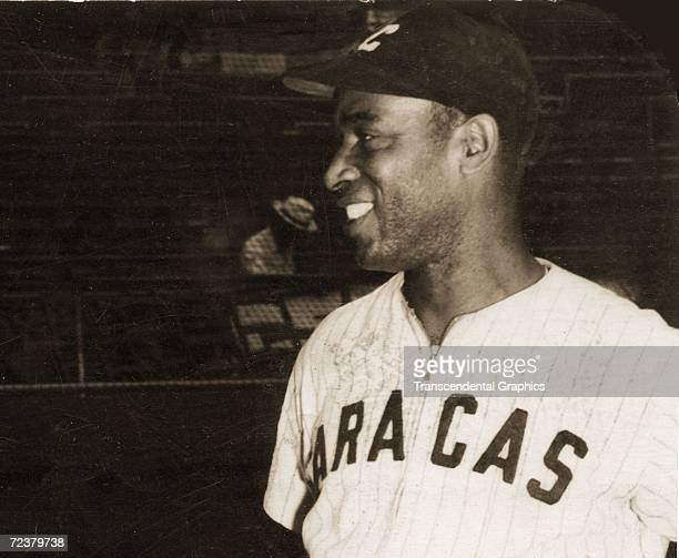 Martin Dihigo, pitcher and outfielder for the Caracas team in the Venezuelan league, poses for a picture in 1933.
