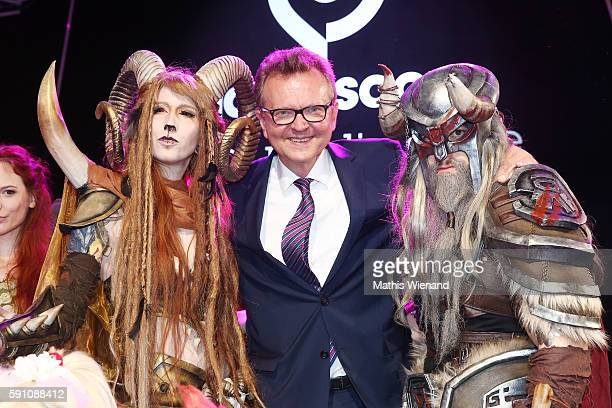Martin Doermann during the Gamescom 2016 gaming trade fair during the media day on August 17 2016 in Cologne Germany Gamescom is the world's largest...