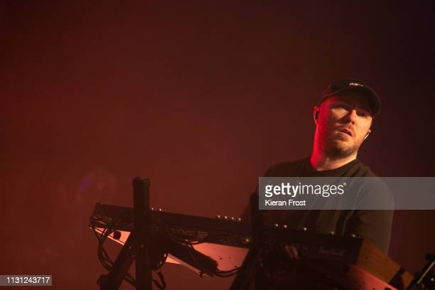 Martin Doherty of CHVRCHES at performs at the Olympia Theatre on February 21 2019 in Dublin Ireland