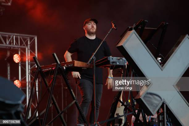 Martin Doherty of Chvrches performs at Citadel festival at Gunnersbury Park on July 15 2018 in London England