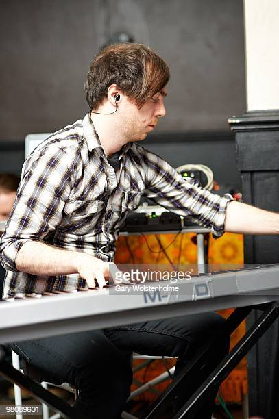 Martin Doherty of The Twilight Sad performs on stage at The Harley on March 27, 2010 in Sheffield, England.