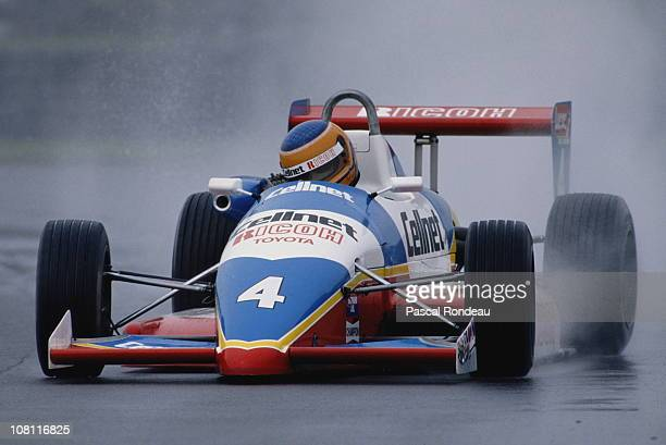 Martin Donnelly drives the Cellnet Ricoh Intersport Racing Ralt RT32 Toyota TOM's during the Lucas British Formula 3 Championship race on 31st July...