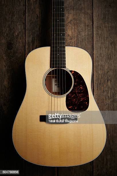 A Martin Dreadnought acoustic guitar taken on July 3 2015