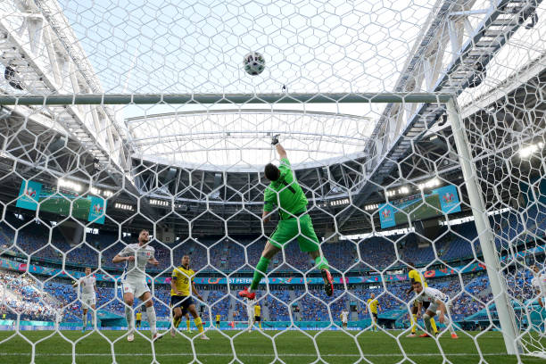 RUS: Sweden v Slovakia - UEFA Euro 2020: Group E