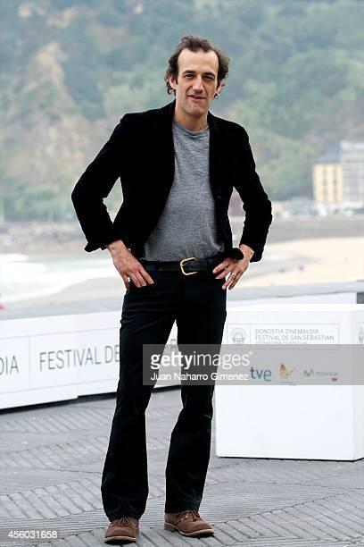 Martin Dubreuil attends 'Felix Eta Meira / Feix and Meira' photocall during 62nd San Sebastian International Film Festival at the Kursaal Palace on...