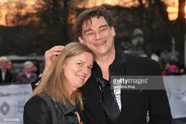 Martin Feifel Und Judith Sutter Bei Der Verleihung Des Adolf Grimme Preis In Marl .