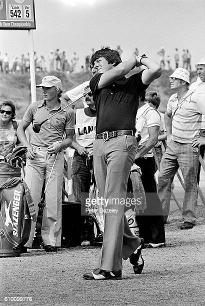 Martin Foster of England during the 105th Open Championship played on the Royal Birkdale Golf Club on July 10 1976 in Southport England