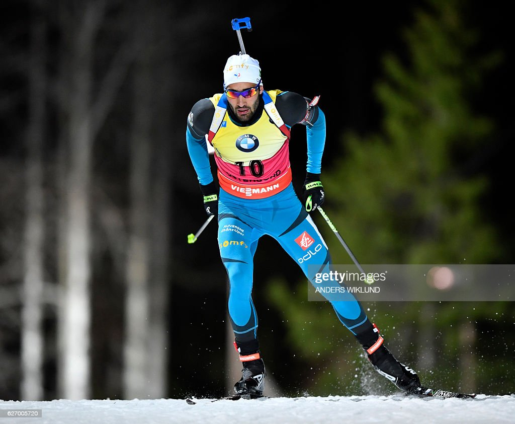 BIATHLON-SWE-WORLD-CUP : News Photo