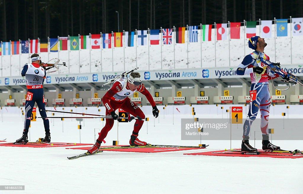 IBU Biathlon World Championships - Men's Mass Start