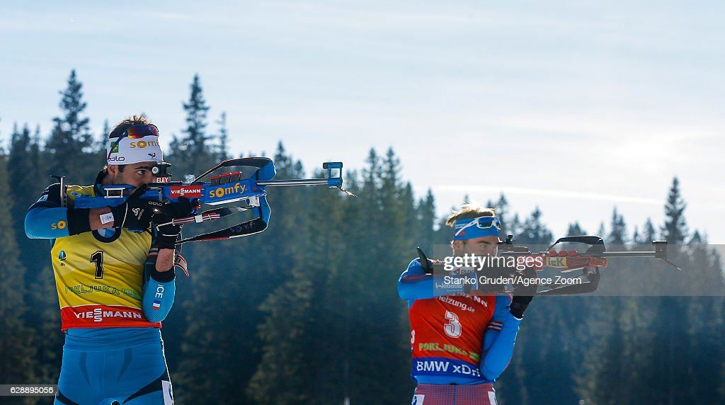 IBU Biathlon World Cup - Men's and Women's Pursuit : News Photo