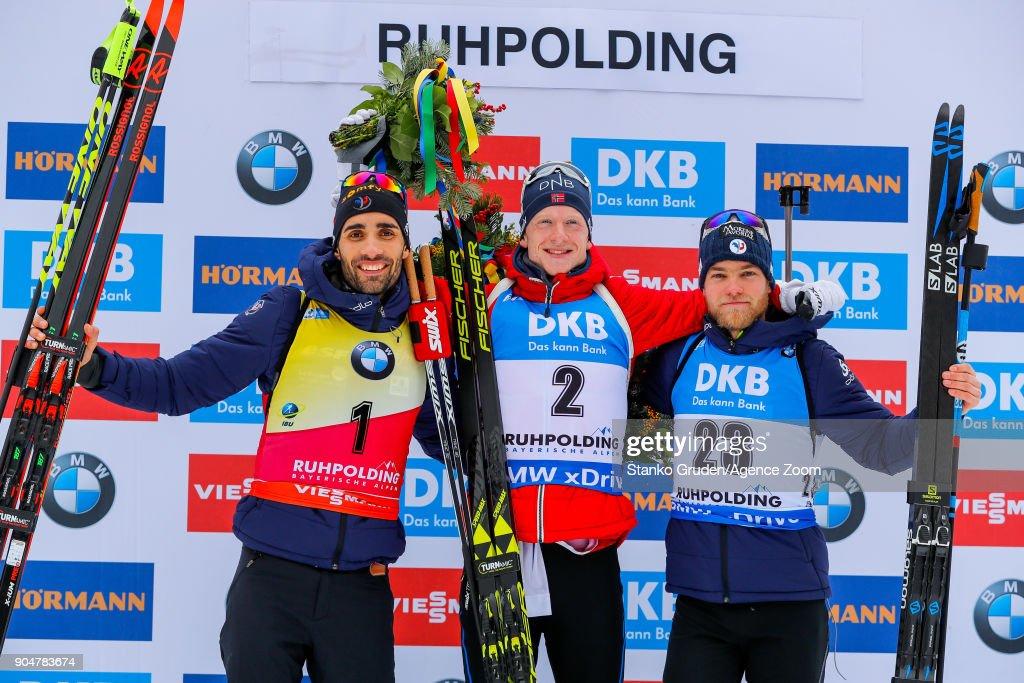 IBU Biathlon World Cup - Men's and Women's Mass Start : News Photo