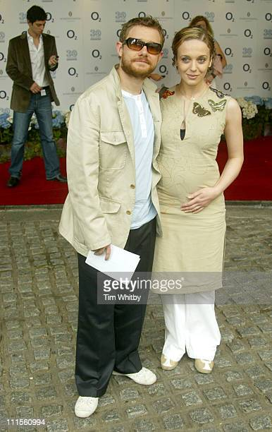 Martin Freeman and Amanda Abbington during 30th Anniversary NordoffRobbins O2 Silver Clef Luncheon at Intercontinental Hotel in London Great Britain