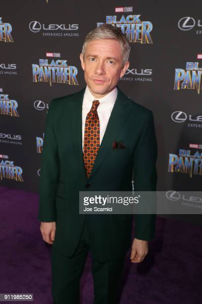 Martin Freeman arrives for the World Premiere of Marvel Studios' Black Panther presented by Lexus at Dolby Theatre in Hollywood on January 29th