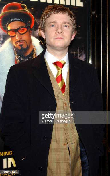 Martin Freeman arriving at the Empire Cinema in London's Leicester Square for the premiere of Ali G InDaHouse 23/03/04 Comics Ricky Gervais and...