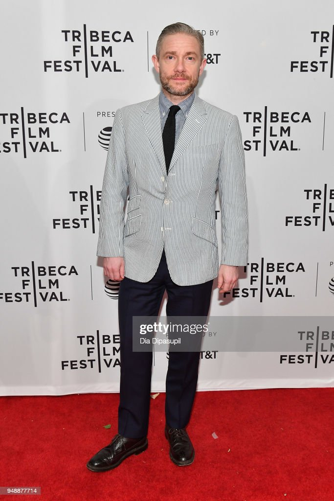 Martin Freeman attends a screening of 'Cargo' during the 2018 Tribeca Film Festival at SVA Theatre on April 19, 2018 in New York City.