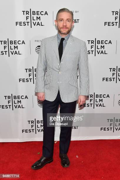Martin Freeman attends a screening of Cargo during the 2018 Tribeca Film Festival at SVA Theatre on April 19 2018 in New York City