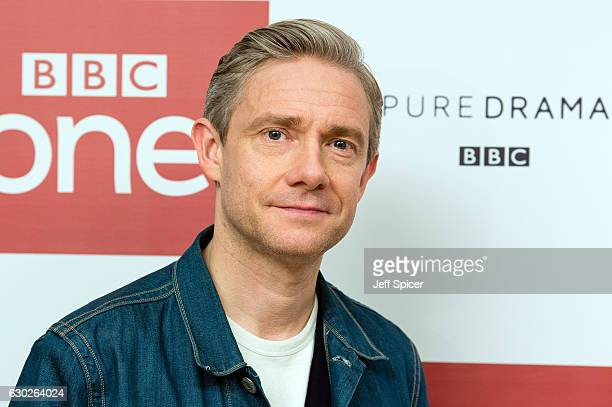Martin Freeman attends a screening of the Sherlock 2016 Christmas Special at Ham Yard Hotel on December 19, 2016 in London, England.