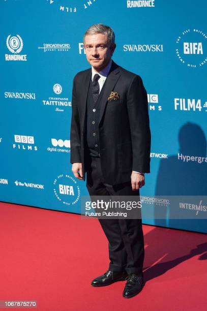 Martin Freeman attends the 21st British Independent Film Awards at Old Billingsgate in the City of London December 02 2018 in London United Kingdom