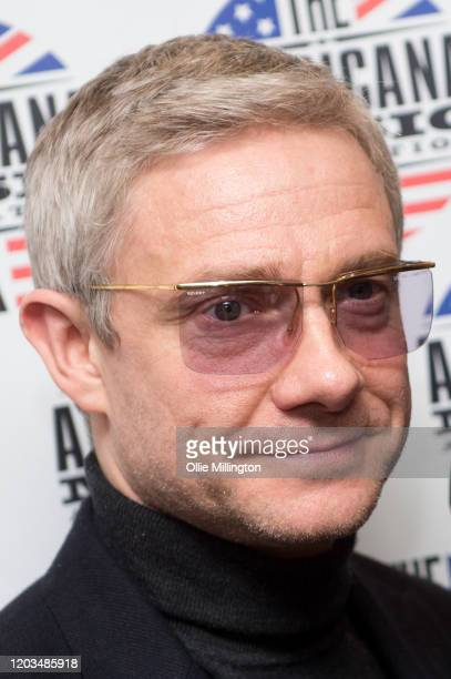 Martin Freeman attends the Americana Awards 2020 at Troxy on January 30, 2020 in London, England.