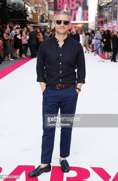 Martin Freeman attends the European Premiere of 'Baby Driver' at Cineworld Leicester Square on June 21 2017 in London United Kingdom