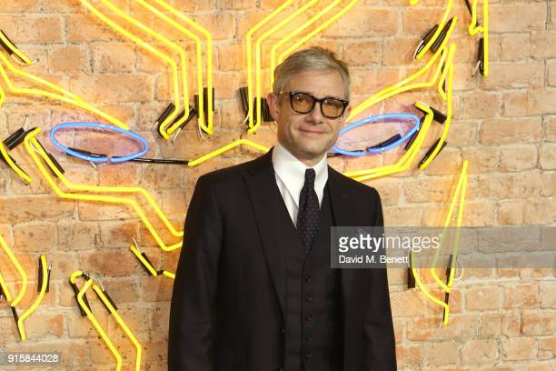 Martin Freeman attends the European Premiere of 'Black Panther' at the Eventim Apollo on February 8 2018 in London England