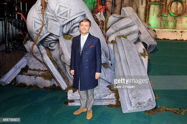 "Martin Freeman attends ""The Hobbit: The Battle Of The Five Armies"" World Premiere at Odeon Leicester Square on December 1, 2014 in London, England."