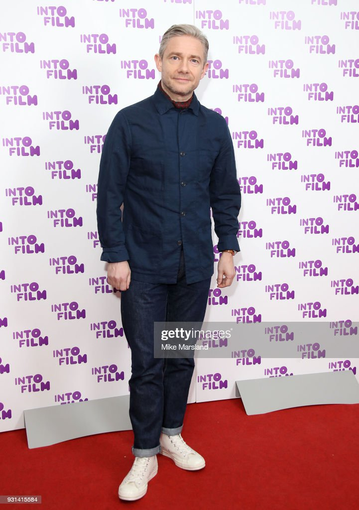 Martin Freeman attends the Into Film Awards at BFI Southbank on March 13, 2018 in London, England.