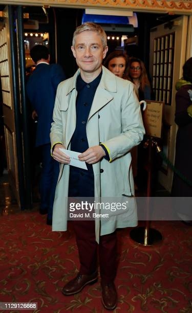 Martin Freeman attends the press night performance of 'Ian McKellen On Stage' a special one man show celebrating his 80th birthday at Duke Of Yorkís...