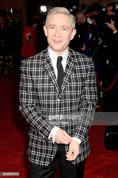 Martin Freeman attends the Rakuten TV EMPIRE Awards 2018 at The Roundhouse on March 18 2018 in London England