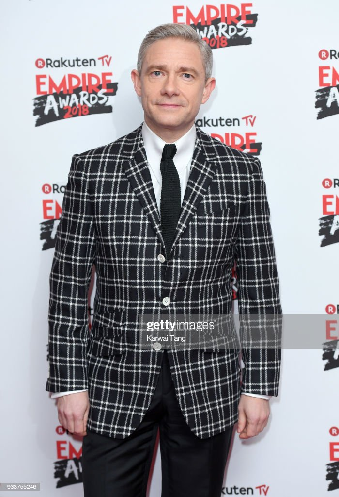Martin Freeman attends the Rakuten TV EMPIRE Awards 2018 at The Roundhouse on March 18, 2018 in London, England.