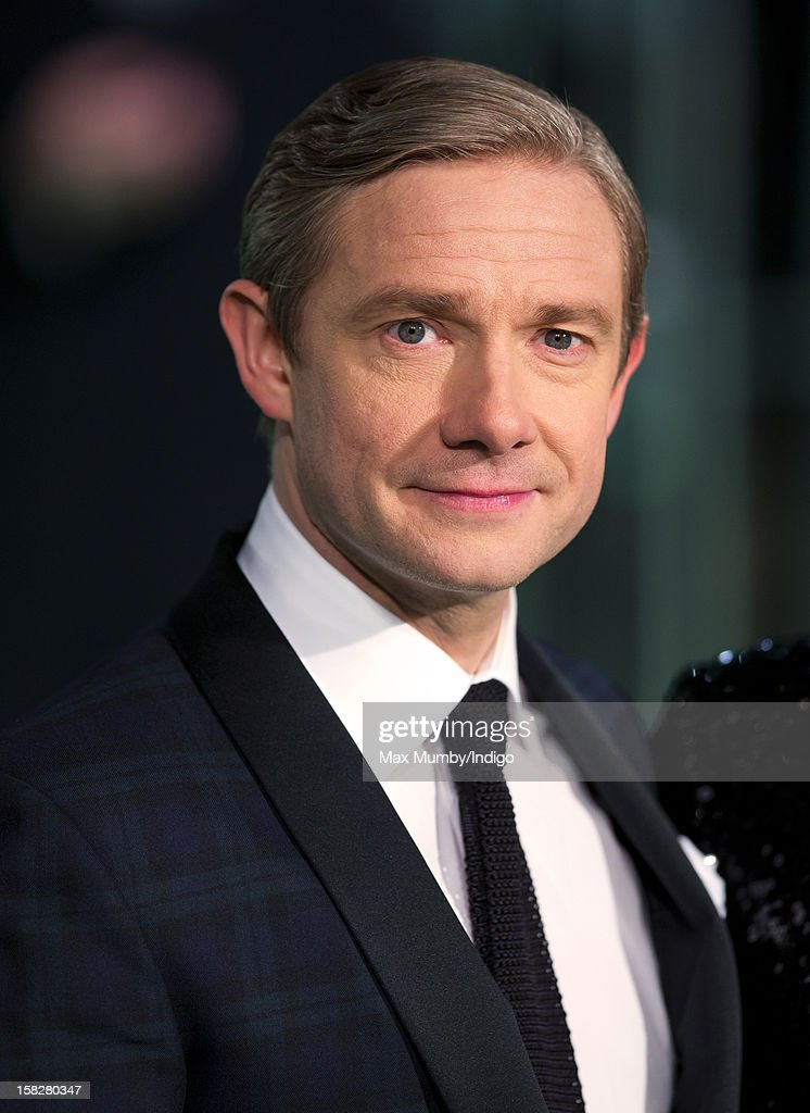 Martin Freeman attends the Royal Film Performance of 'The Hobbit: An Unexpected Journey' at Odeon Leicester Square on December 12, 2012 in London, England.