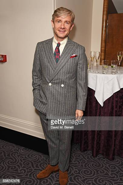 Martin Freeman attends the The South Bank Sky Arts Awards airing on Wednesday 8th June on Sky Arts at The Savoy Hotel on June 5 2016 in London England