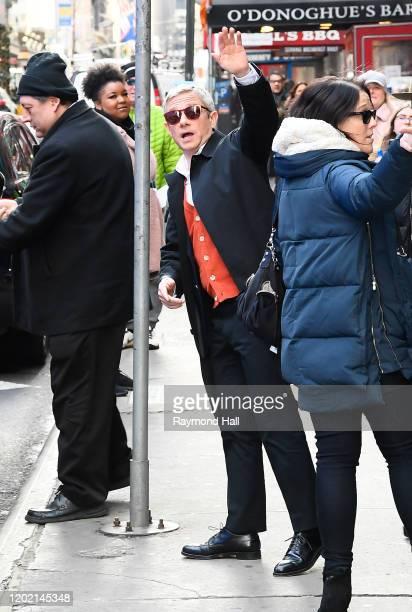 "Martin Freeman is seen outside ""Good Morning America"" on February 20, 2020 in New York City."