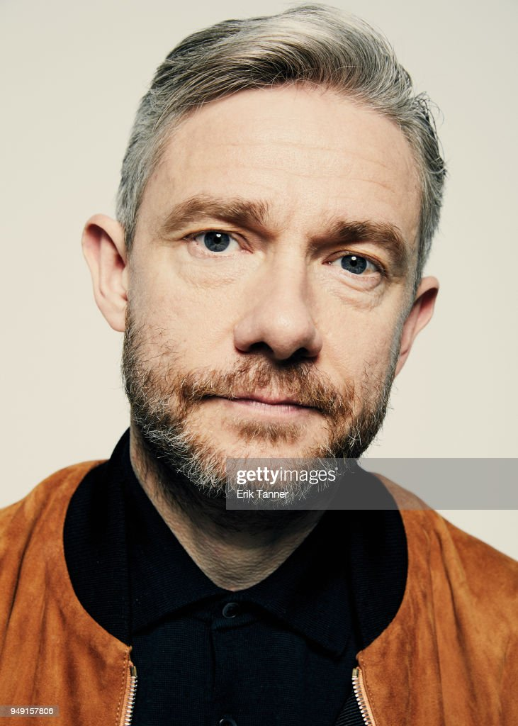 Martin Freeman of the film Cargo poses for a portrait during the 2018 Tribeca Film Festival at Spring Studio on April 20, 2018 in New York City.