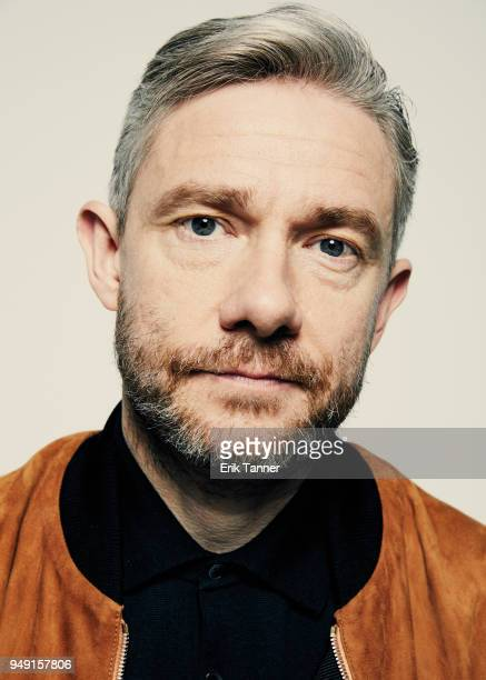 Martin Freeman of the film Cargo poses for a portrait during the 2018 Tribeca Film Festival at Spring Studio on April 20 2018 in New York City