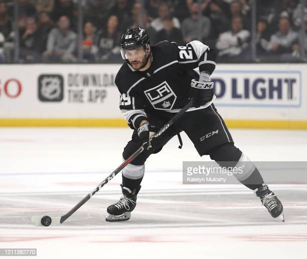 Martin Frk of the Los Angeles Kings skates against the Toronto Maple Leafs during the third period at Staples Center on March 05 2020 in Los Angeles...