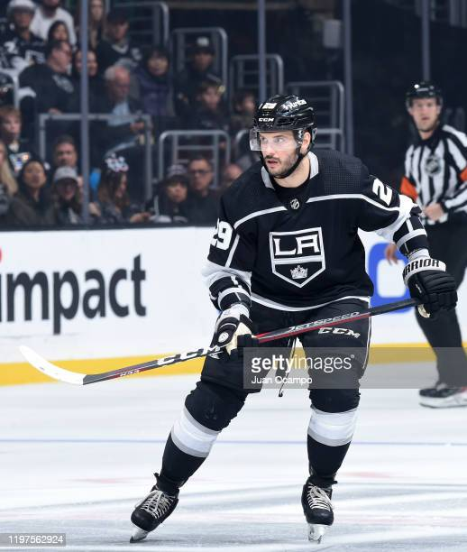 Martin Frk of the Los Angeles Kings skates on the ice during the third period against the Philadelphia Flyers at STAPLES Center on December 31 2019...