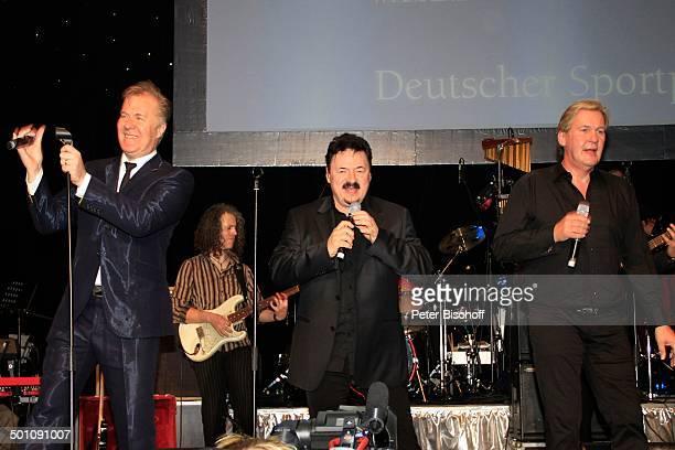 "Martin Fry , Bobby Kimball, Johnny Logan , 28. ""Deutscher Sportpresseball"", ""Alte Oper"", Frankfurt am Main, Hessen, Deutschland, Europa, Sport,..."