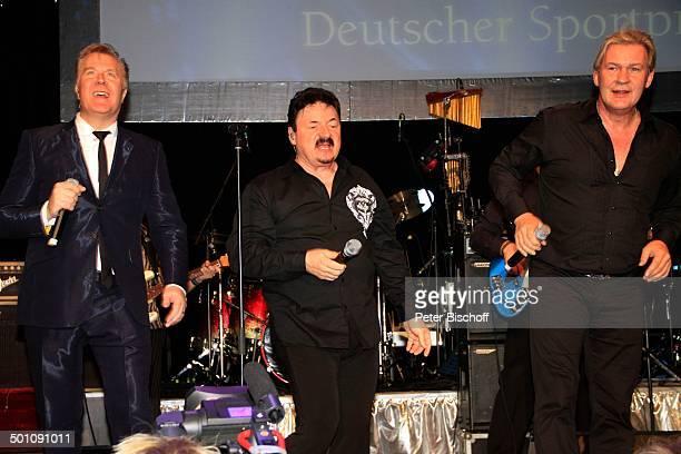 Martin Fry Bobby Kimball Johnny Logan 28 Deutscher Sportpresseball Alte Oper Frankfurt am Main Hessen Deutschland Europa Sport Presseball Sportball...