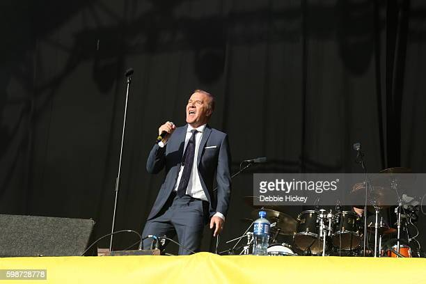 Martin Fry of ABC performs at Electric Picnic Festival at Stradbally Hall Estate on September 2 2016 in Dublin Ireland