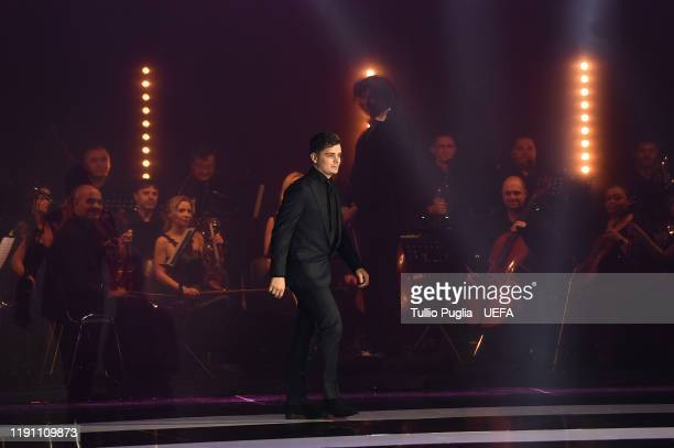 Martin Garrix attends the UEFA Euro 2020 Final Draw Ceremony on November 30, 2019 in Bucharest, Romania.